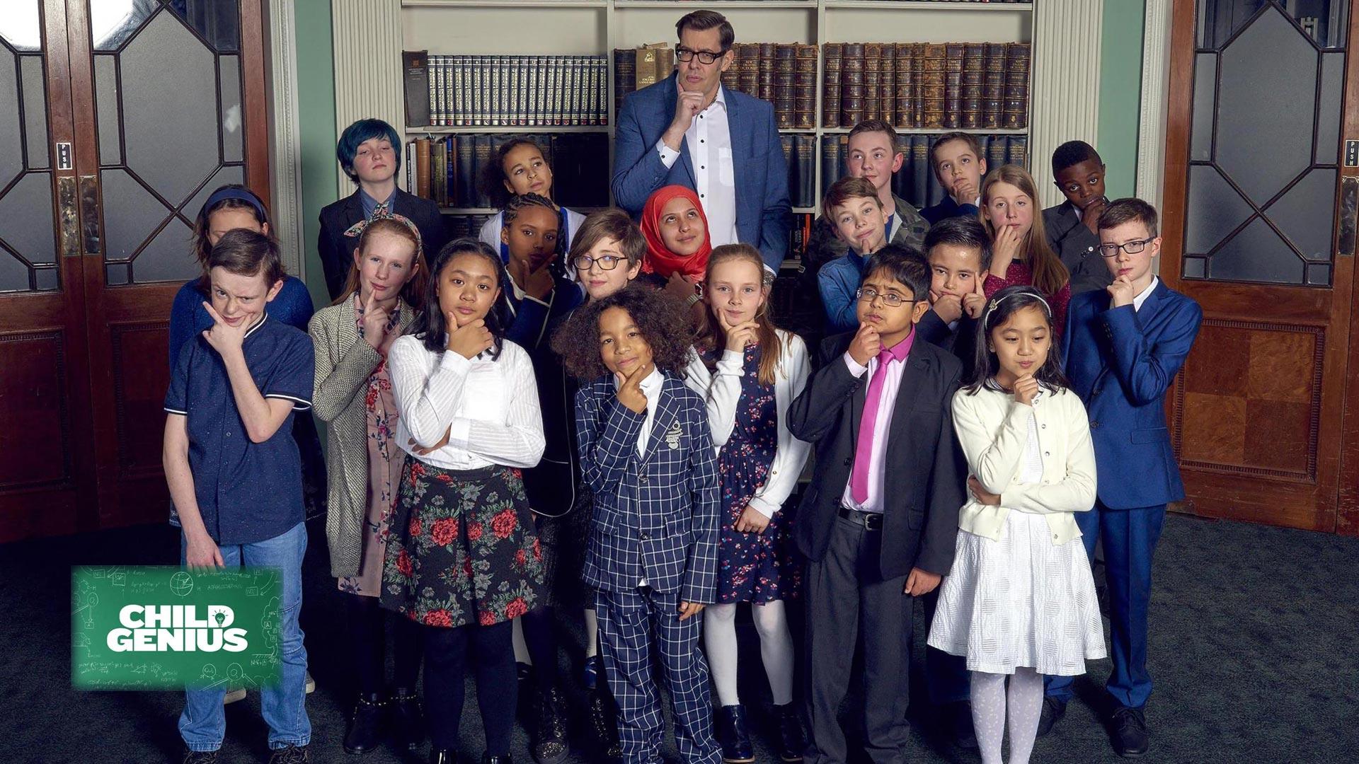 Child genius TV show